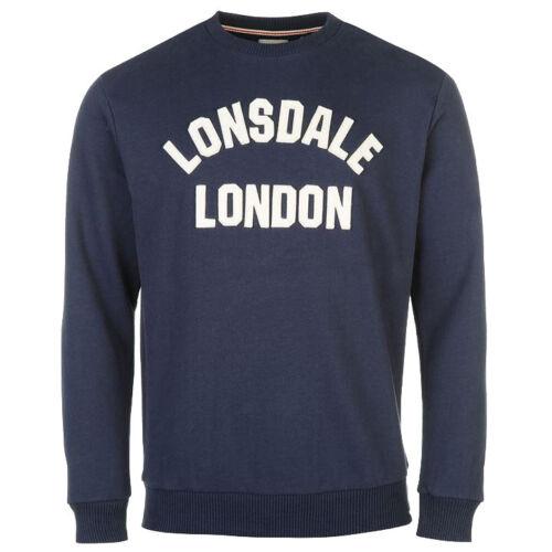 L XL 2XL New Lonsdale Men/'s Htg Jumper Sweatshirt Jumper Sweater Sweat S