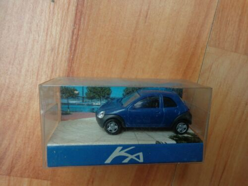 BLUE PROMOTIONAL CAR MODEL FORD KA RIETZE 1//87 RBT 1996
