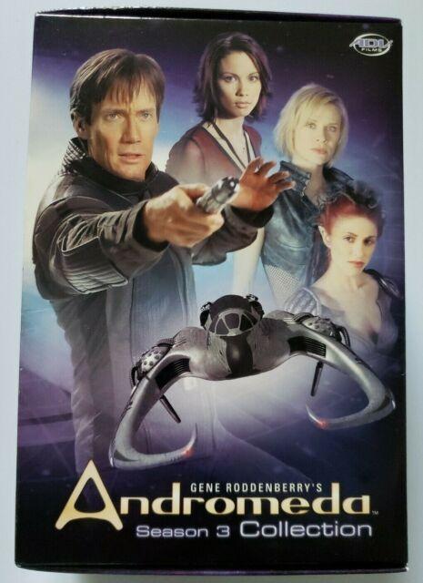 Andromeda Season 3 Collection Dvd 2005 5 Disc Set For Sale Online Ebay