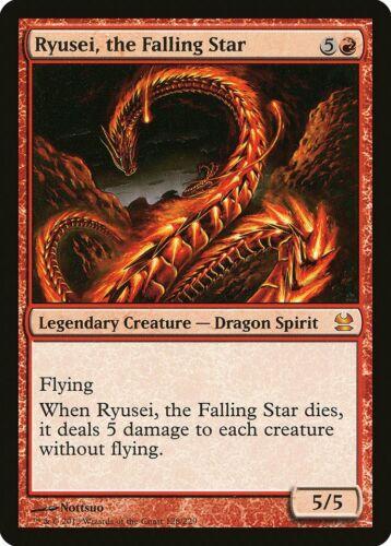 the Falling Star Modern Masters NM Red Mythic Rare MAGIC CARD ABUGames Ryusei