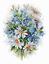 "Counted Cross Stitch Kit FIREBIRD by MP Studio M-120 /""Meadow flowers/"""