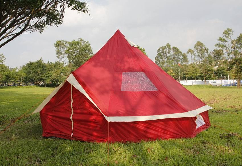 5m Camping  Bell Tent ZIG 400-Ultimate Wine colour water proof & Carry case New  hot limited edition