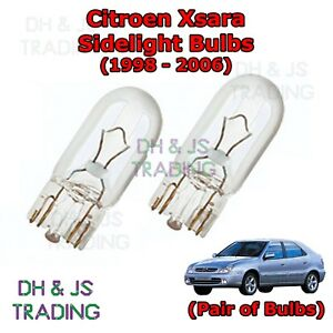 Citroen Dispatch White LED /'Trade/' Wide Angle Side Light Beam Bulbs Pair Upgrade