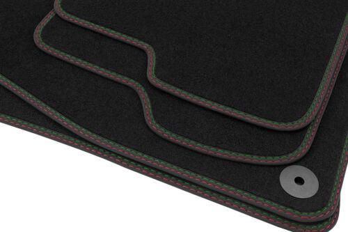 2015 Premium Doppelziernaht Fußmatten für Skoda Superb 3 III ab Bj