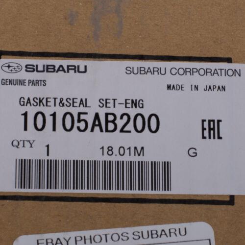 OEM 2008-2018 Subaru Impreza WRX STI Engine Cylinder Head Gasket Kit 10105AB200