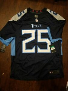 Details about NEW Nike Tennessee Titans Adoree' Jackson #25 Navy Player Game Jersey XL