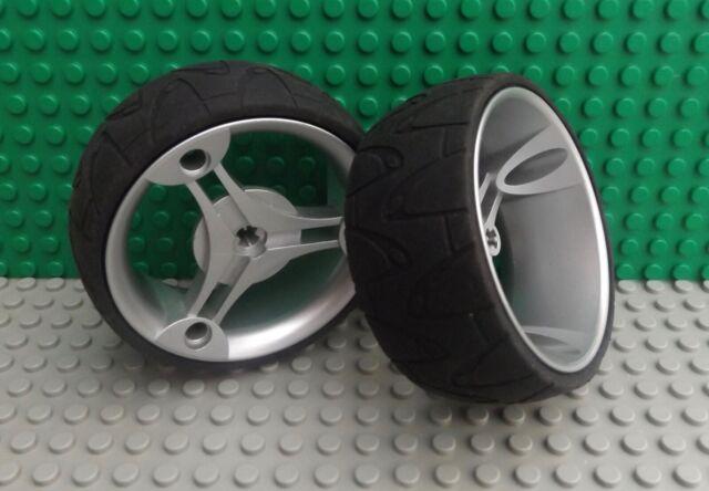 Missing Lego Brick 32077 /& 32078 Mettalic Silver Wheel
