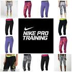 Nike Pro Women's Dri-Fit Compression Spandex Capri Pants FREE SHIPPING NWT XS-XL