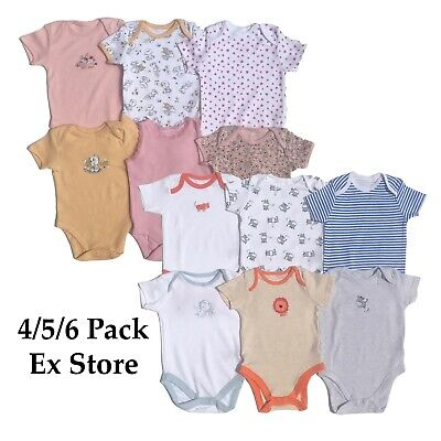 Baby Gro// bodysuit Twin Pack Early Baby to 36 Months EX Mothercare item