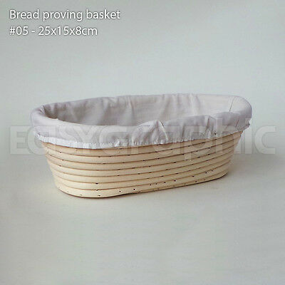 Round, Oval Bread Proofing Proving Baskets, Rattan Banneton Brotform Dough, UK
