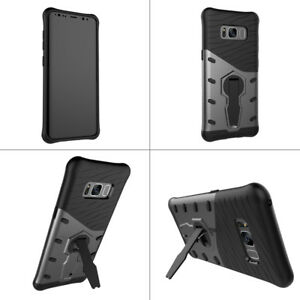 Pour-Samsung-S8-S8-plusshockproof-Protection-Arriere-Telephone-Etui-Housse-Avec-Support