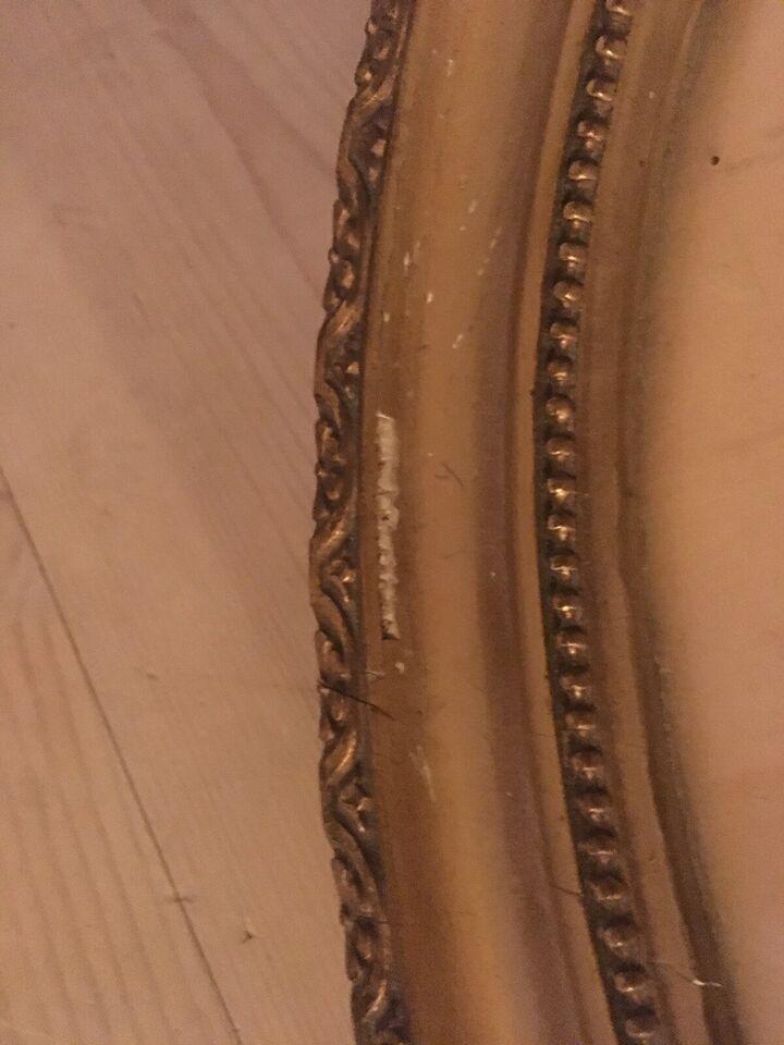 Oval guldramme, Vintage