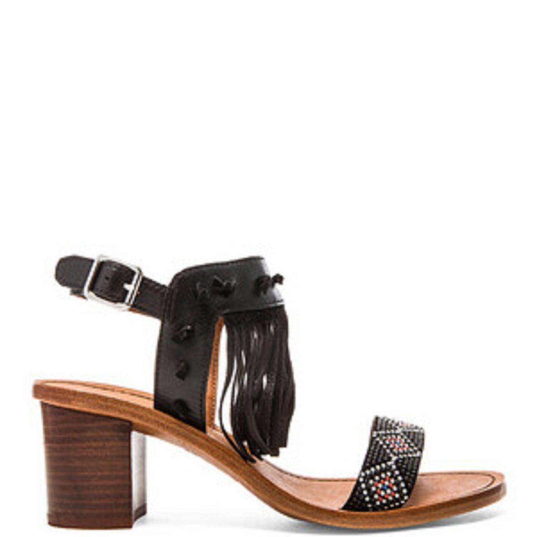 New Ash Patchouli Embellished Fringe Sandales Damens's sz 36 US 5.5-6 EUR 36 sz 109545