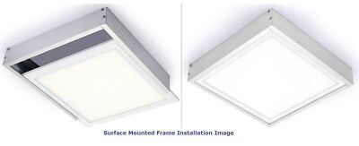 5PCS 2X4FT Aluminum Surface Mount Frame Ceiling Kit for LED Panel Light