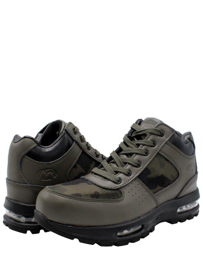 HERREN Mountain Gear D-Day Netz 2 Tarnfarbe Wandern Nachlauf Olive Leder Stiefel
