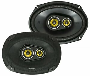 "Kicker CSC6934, CS Series 6x9"" 3 Way Car Speakers  (46CSC6934)"