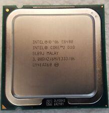 Intel Core 2 Duo E8400 3.0 GHz 6MB 1333MHz - Desktop processor - SLB9J