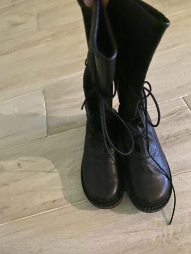 trippen 38 Black Boots