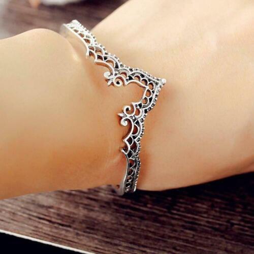 Frauen Vintage Boho Dreieck Openwork Lace Armband  Schmuck