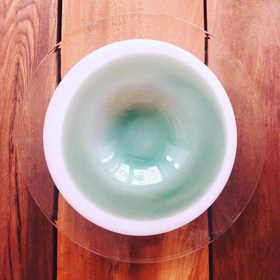 Glas, Glasskål, Ukendt