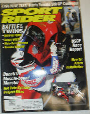 Sport Rider Magazine USGP Race Report BMW R1100RS February 1994 021115R