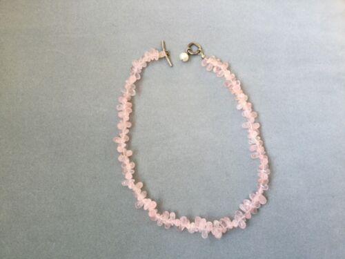 Triple Bracelet Rhodochrosite Pink Quartz Garnet Freshwater Pearl Sterling Silver Gemstone Bracelet