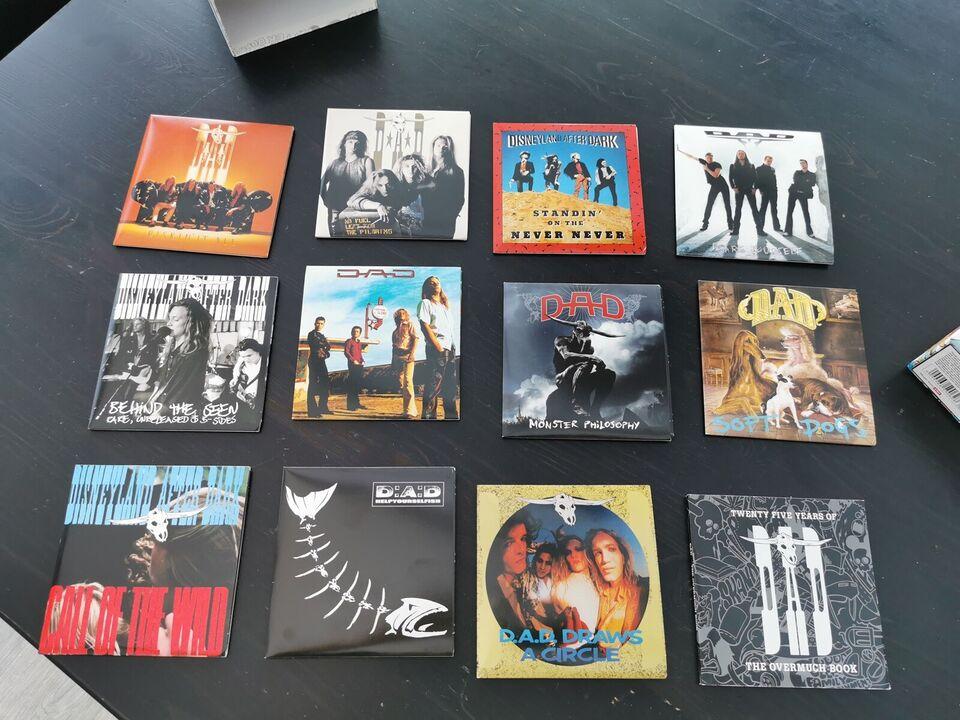 DAD: The overmuch box - twenty five years of DAD, rock