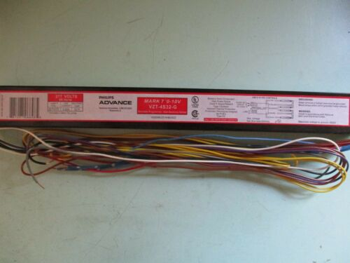 4 F32T8 Advance Ballast VZT-4S32-G Dimmable Programed Electronic