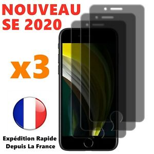 Verre-Trempe-Vitre-Anti-espion-iPhone-SE-6-7-8-X-XR-11-Pro-Film-Protection-Ecran