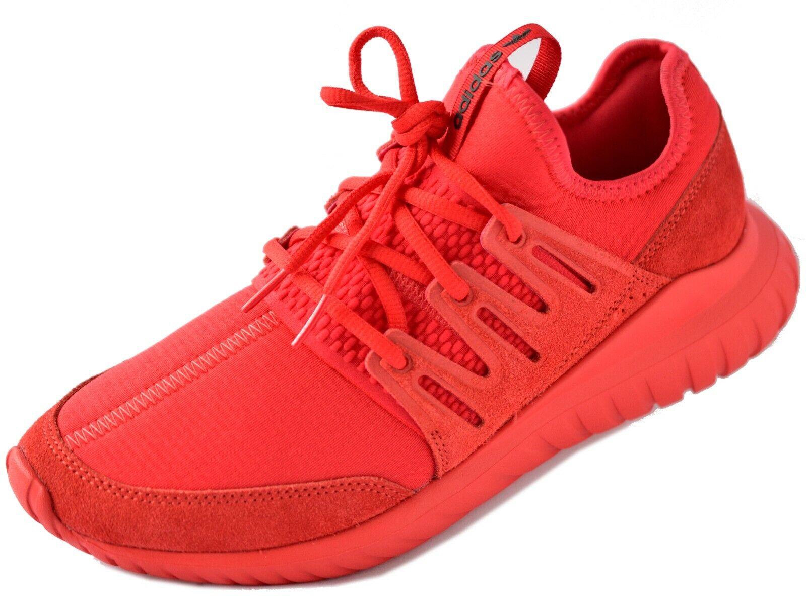 Adidas Originals Trainers Tubular Radial Mens damen Althletics schuhe UK Größe rot