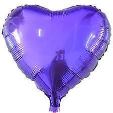 Fruta de lunares con forma de Corazón Forma de Papel de Aluminio Globos Cumpleaños Boda Caramelo Remolino