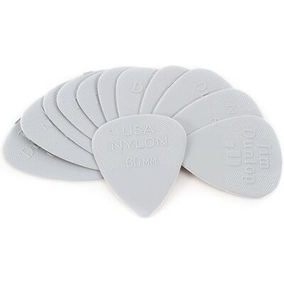 Dunlop 44P.60 Nylon Standard .60mm Light Grey Guit