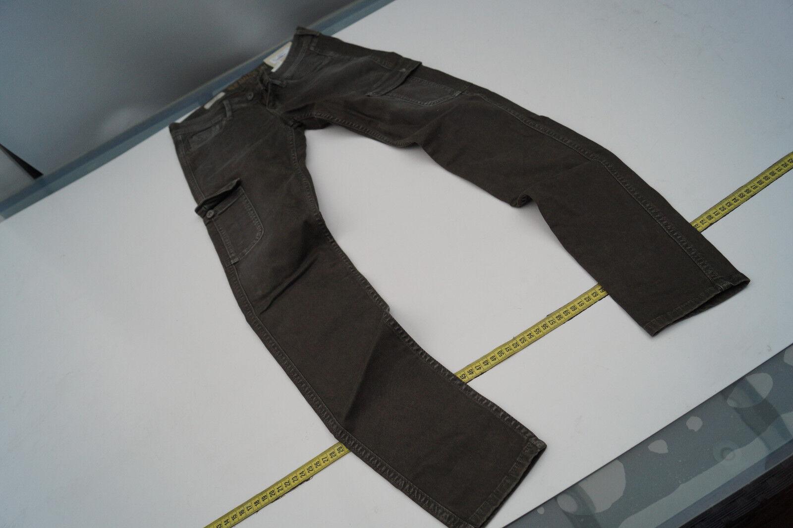 PEPE JEANS New Amazon Damen Cargo Hose skinny slim stretch 27 32 W27 L32 army  9