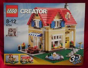 Lego 6754 Creator    Rare 3-en-1 Maison Boîte scellée nouvelle usine 673419111621  family Home