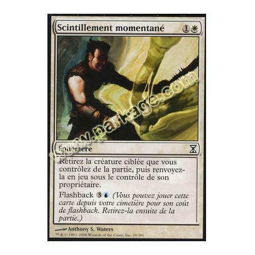 NM MTG Magic Scintillement momentané Spirale Temporelle n°29 Français