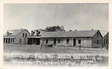 RPPC Sutlers Store Oldest Permanent Building in Wyoming Ft Laramie WY Postcard