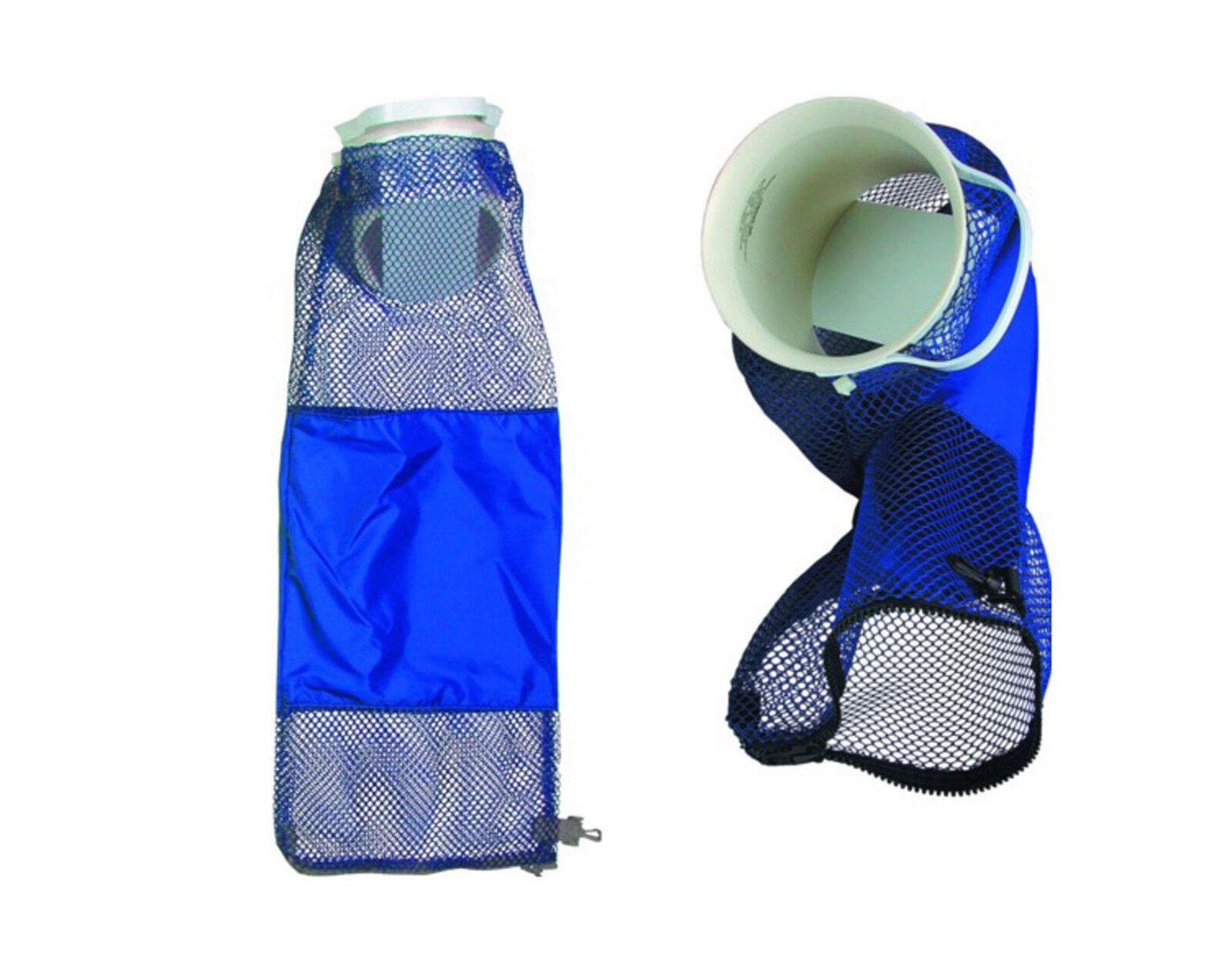 Lobster Inn Deluxe Mesh Game Bag for Scuba, Freediving bluee BG0806