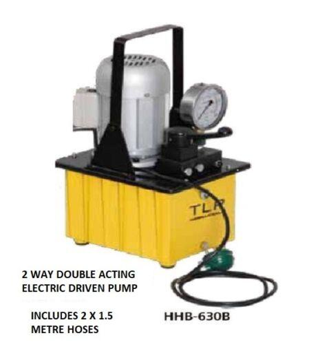 Iva £ 345.00 Bomba Hidráulica impulsado por Eléctrico Válvula de doble efecto Manual
