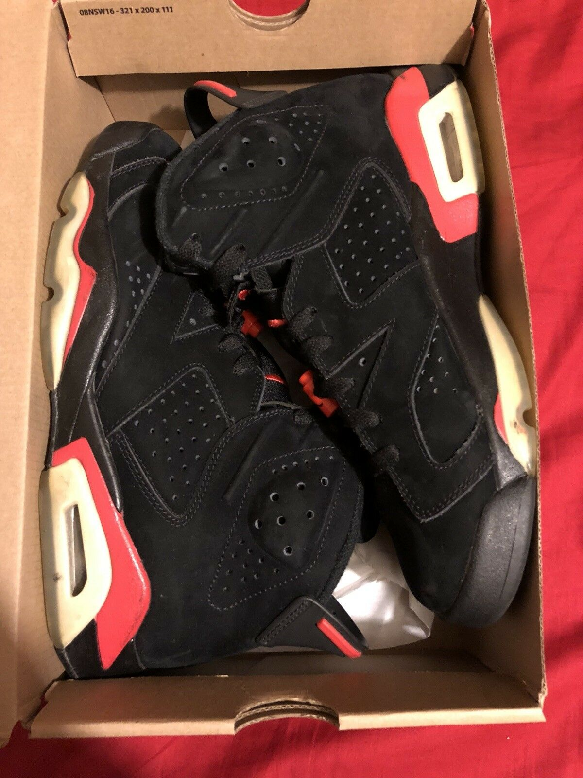 Air jordan 6 infrared 2010 Size 8.5