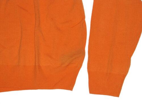 $695 Ralph Lauren Purple Label Mens Italy Crewneck Light Knit Wool Sweater New