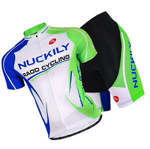 Mens Bike Road Cycling Bicycle Outdoor Sports Short Sleeve Jersey Shorts Set