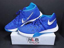 brand new 4a1d2 1e10f 2015 Nike Zoom Hyperquickness TB 749883-404 Blue White Men s Size 13