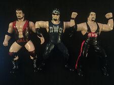 1997 WCW OSFT 3 Figure NWO Lot (Hulk Hogan, Scott Hall, Kevin Nash) WWE WWF