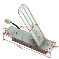 Silver Metal Electric Scooter Sport Go Kart Accelerator Throttle Foot Pedal