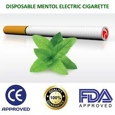 "6"" Disposable Electronic Cigarette Pen E-Cig 500 Puffs Menthol Flavour Cigalike"