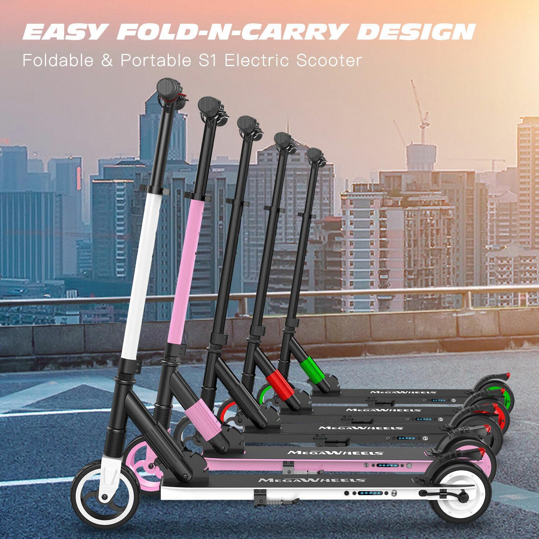 Faltbar ElektrGoldller Tretroller 250W 14MPH Foldable Roller Aluminium E-Scooter