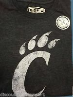 Cincinnati Bearcats Tshirts. Assorted Colors/styles. All With Tags