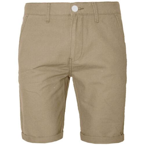 Smart Casual Estate Pantaloni Da Uomo Andy cotone Roll Up Pantaloni Corti Chino