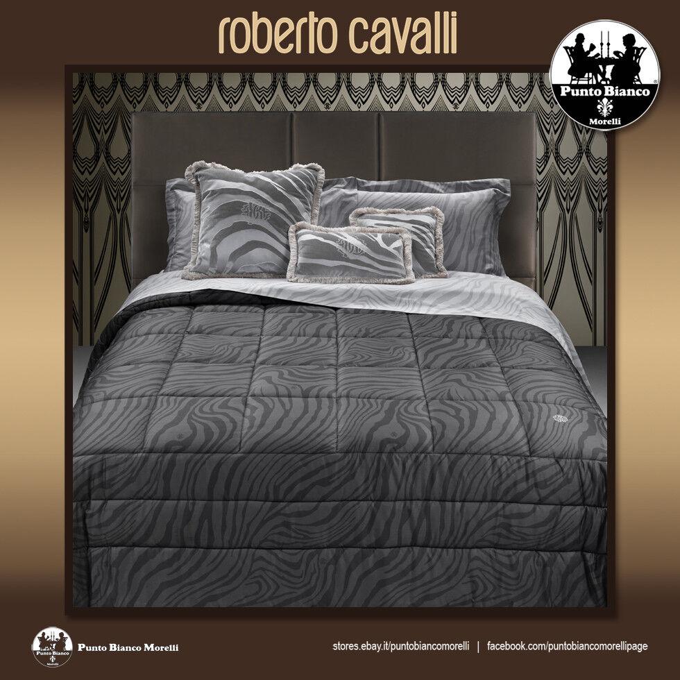 ROBERTO CAVALLI HOME   MACRO ZEBRAGE Quilted bedspread