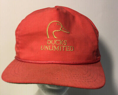 A7 Vintage Ducks Unlimited Strapback Hat Ballcap Ebay